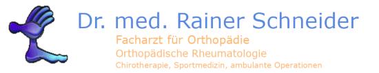Dr. med. Rainer Schneider